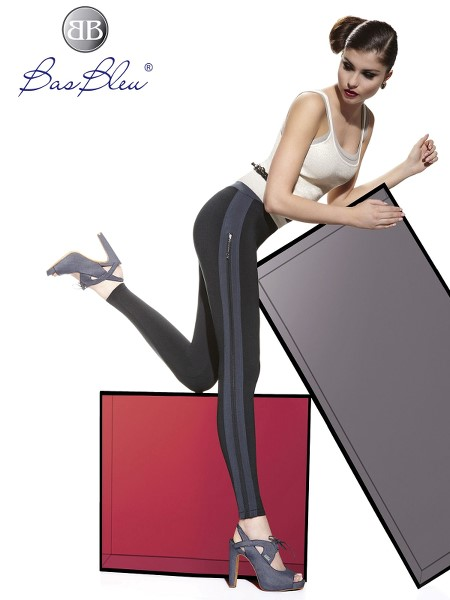 Leggings Bas Blue SIMONE 200 DEN