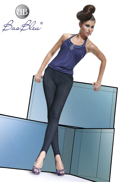 Treggings Bas Blue LUISA 200 DEN