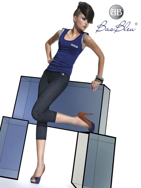 Treggings Short Bas Blue LUISA