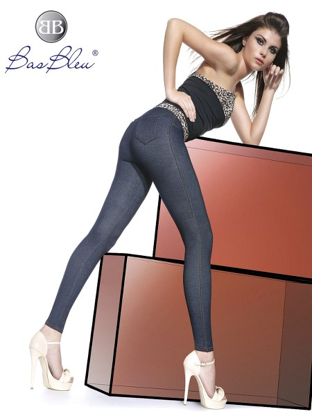 Treggings Bas Blue BLANKA 200 DEN