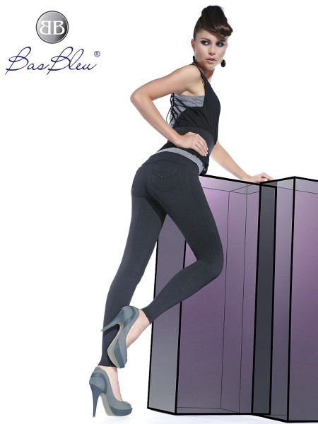 Treggings Bas Blue SANDRA