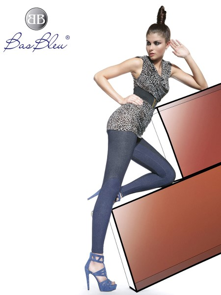 Leggings Bas Blue JENIFER