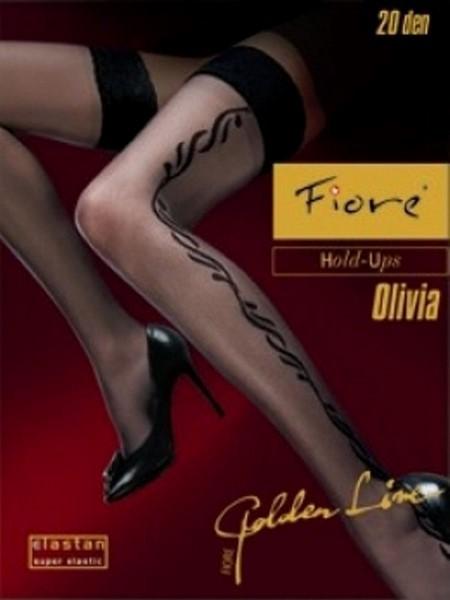 Ciorapi cu banda adeziva Fiore OLIVIA