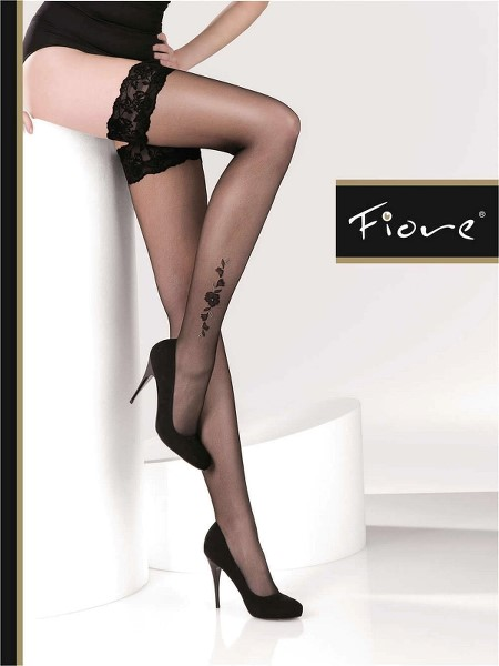Ciorapi cu banda adeziva Fiore TIFFANY