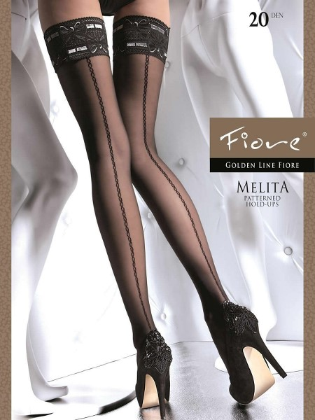 Ciorapi cu banda adeziva Fiore MELITA 40 DEN