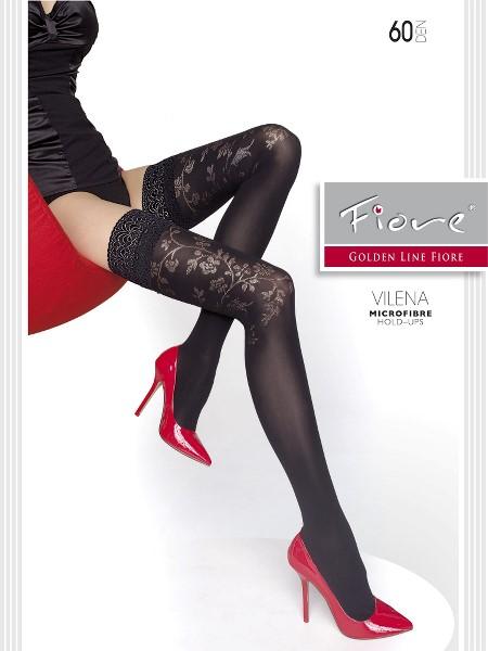 Ciorapi cu banda adeziva Fiore VILENA 60 DEN