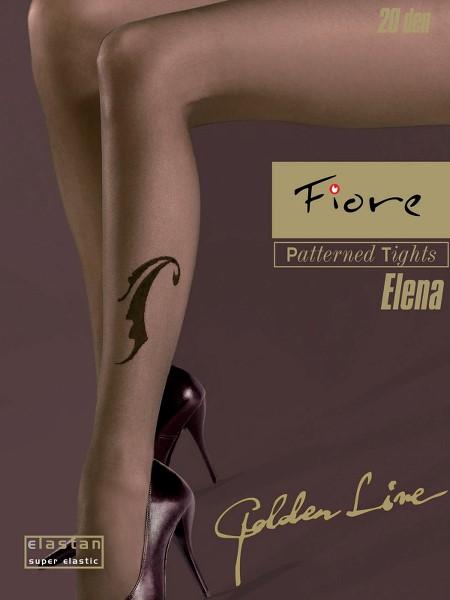 Ciorapi cu model Fiore ELENA 20 DEN