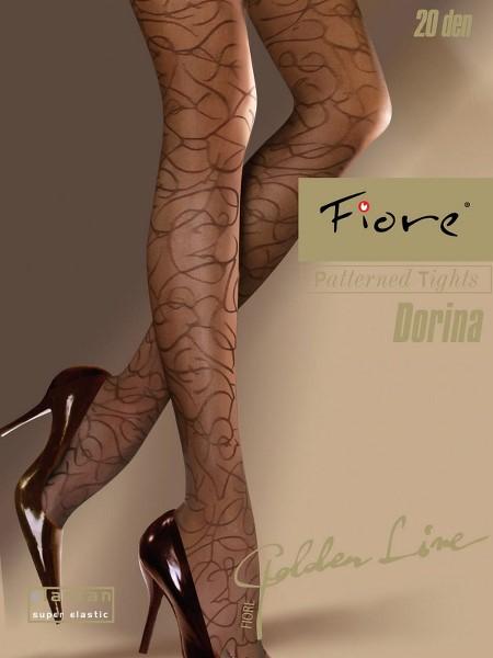 Ciorapi cu model Fiore DORINA 20 DEN