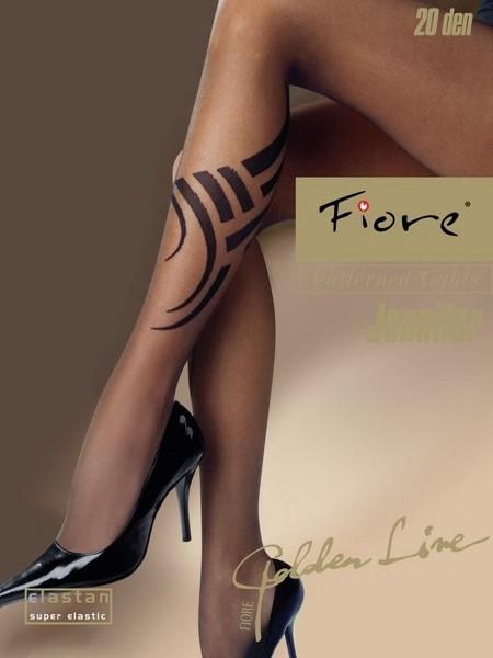 Ciorapi cu model Fiore JENNIFER 20 DEN
