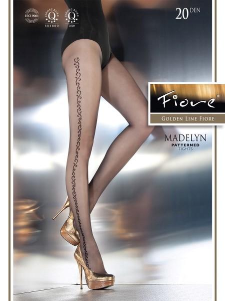 Ciorapi cu model Fiore MADELYN 20 DEN
