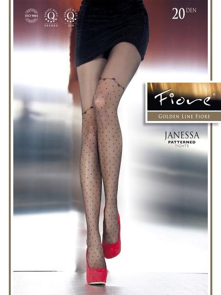 Ciorapi cu model Fiore JANESSA