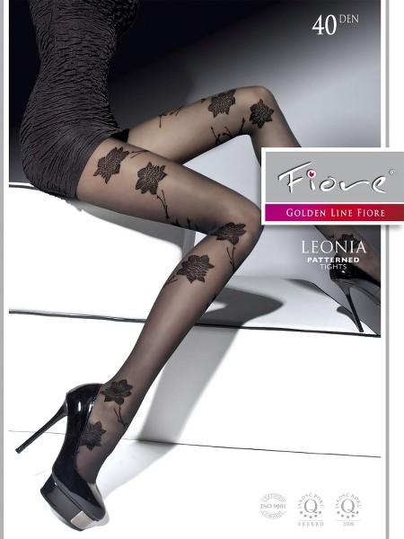 Ciorapi cu model Fiore LEONIA 40 DEN