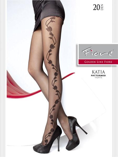 Ciorapi cu model Fiore KATIA