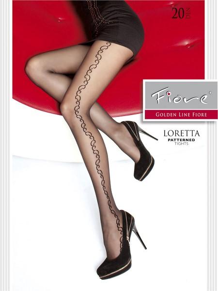Ciorapi cu model Fiore LORETTA 20 DEN