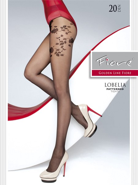 Ciorapi cu model Fiore LOBELIA