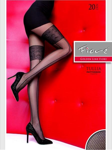 Ciorapi cu model Fiore TULLIA