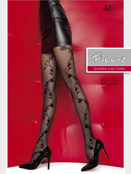 Ciorapi cu model Fiore MAURA