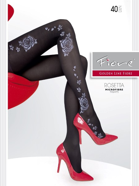 Ciorapi Fiore ROSETTA (Microfibra)