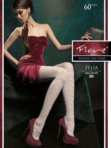 Ciorapi Fiore ZELIA (Microfibra 3D)