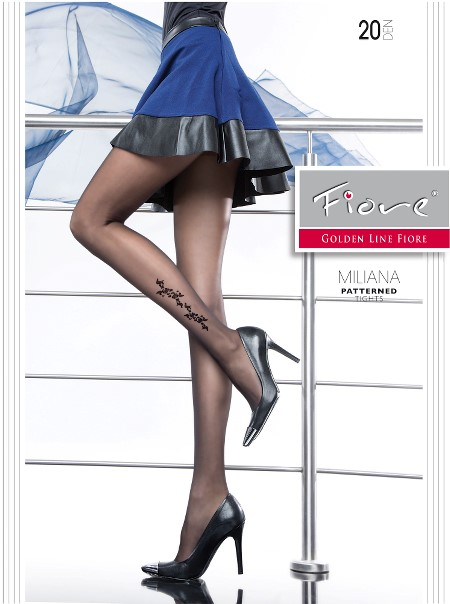 Ciorapi cu model Fiore MILIANA