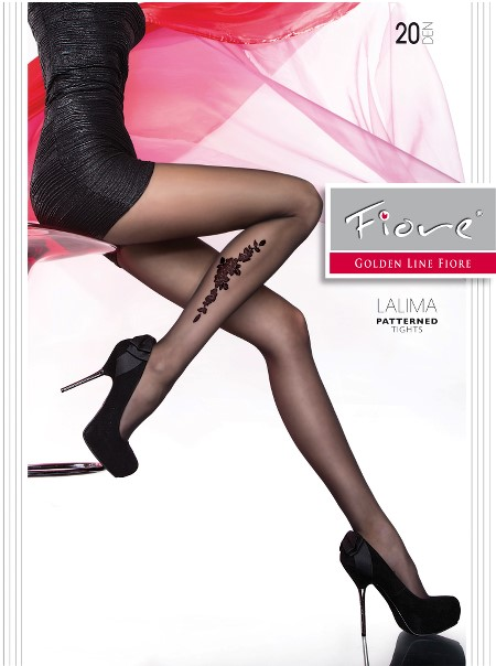 Ciorapi cu model Fiore LALIMA 20 DEN