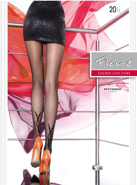 Ciorapi cu model Fiore HELIA 20 DEN
