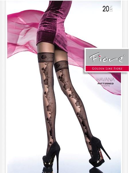 Ciorapi cu model Fiore HAVANA 20 DEN