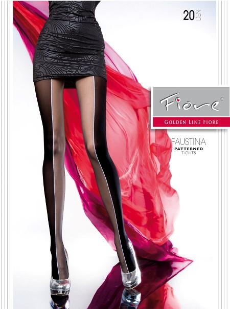 Ciorapi cu model Fiore FAUSTINA 20 DEN