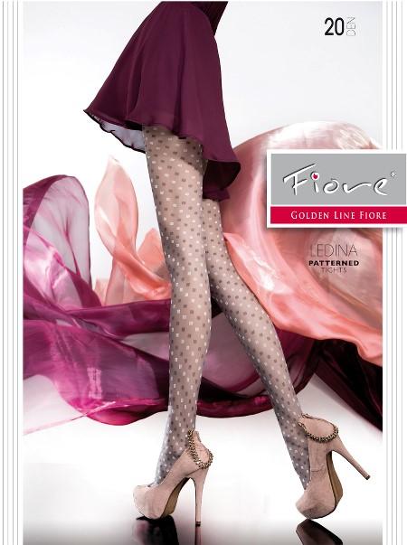 Ciorapi cu model Fiore Ledina
