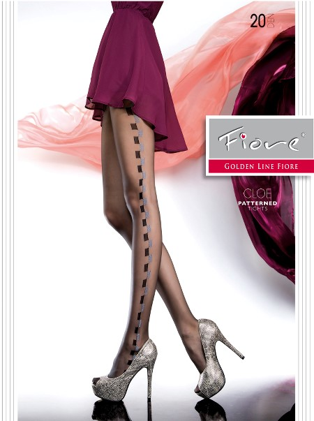 Ciorapi cu model Fiore CLOE