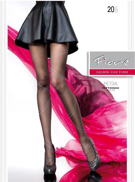 Ciorapi cu model Fiore PETRA_N 20 DEN