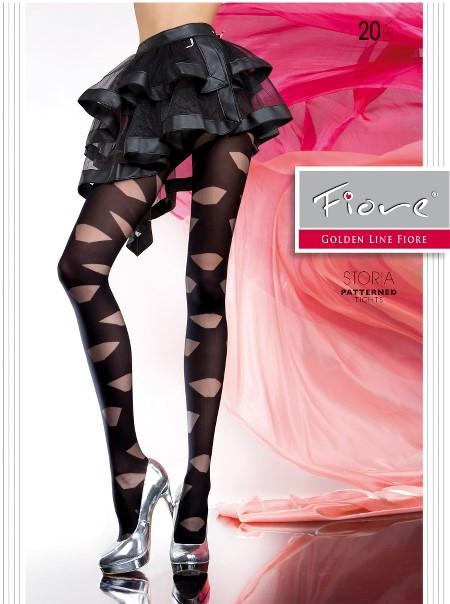 Ciorapi cu model Fiore STORIA 20 DEN