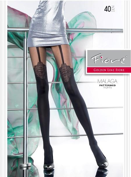 Ciorapi cu model Fiore MALAGA 40 DEN