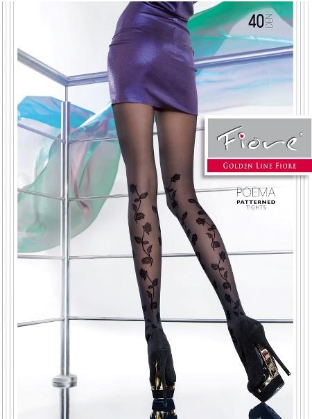 Ciorapi cu model Fiore POEMA