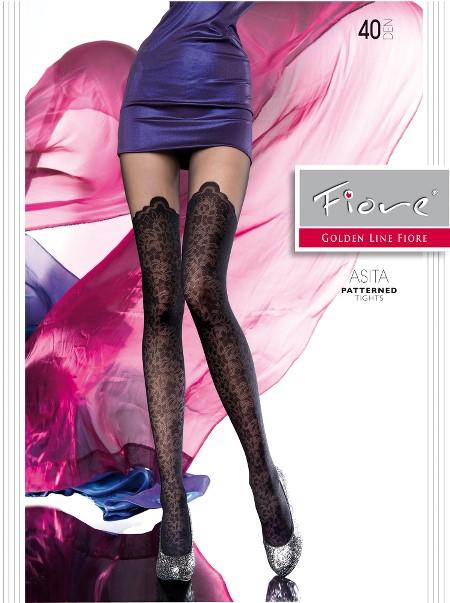 Ciorapi cu model Fiore ASITA