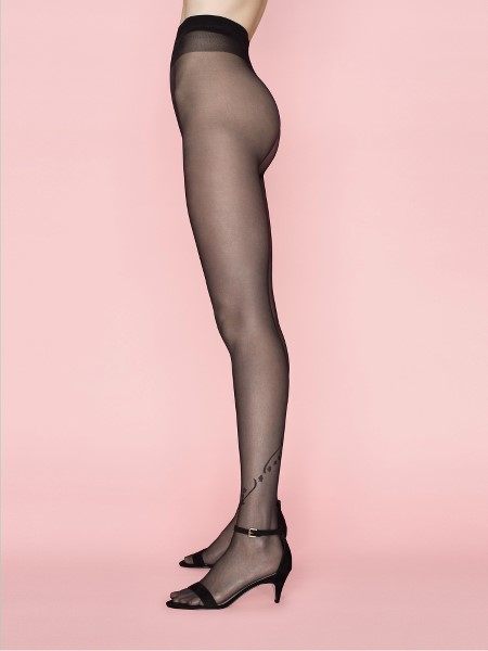 Ciorapi cu model Fiore Dune