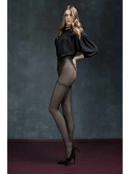 Ciorapi cu model Fiore Mystery