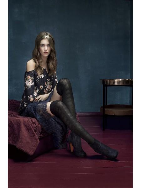 Ciorapi cu model Fiore Nite