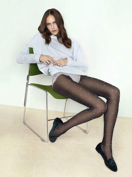 Ciorapi cu model Fiore Bling