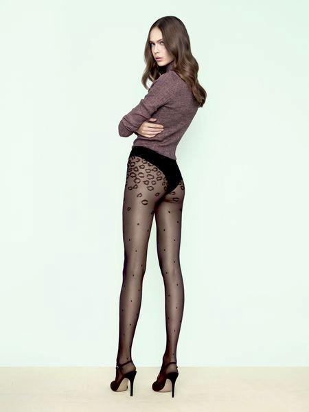 Ciorapi cu model Fiore Catmint