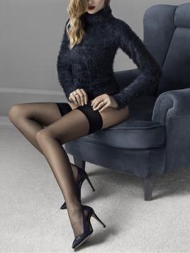 Ciorapi cu banda adeziva Fiore Glam