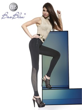 Treggings Bas Blue HOLLY