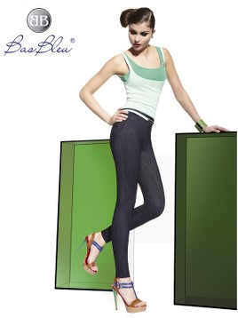 Treggings Bas Blue PENELOPE