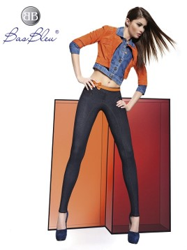 Treggings Bas Blue JULIET