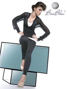Leggings Bas Blue LISA 200 DEN