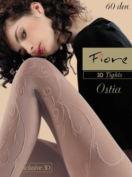 Ciorapi cu model Fiore OSTIA 60 DEN