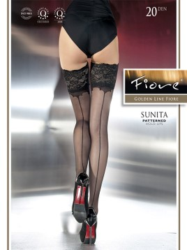 Ciorapi cu banda adeziva Fiore SUNITA 20 DEN