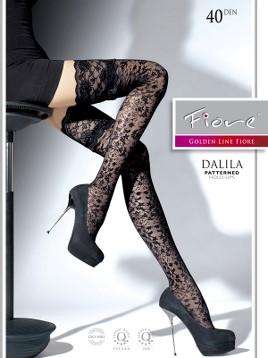 Ciorapi cu banda adeziva Fiore DALILA 40 DEN