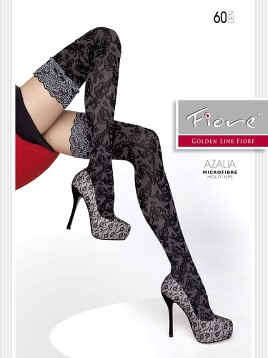 Ciorapi cu banda adeziva Fiore AZALIA 60 DEN