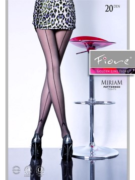 Ciorapi cu model Fiore MIRIAM